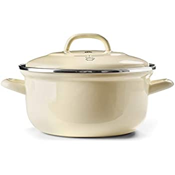 BK Dutch Dutch Oven Indigo Collection 5.5QT (White)