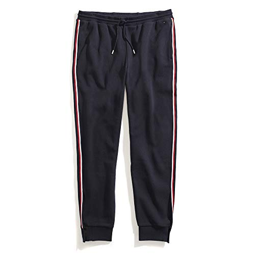 Tommy Hilfiger Women's Adaptive Pant with Adjustable Hems and Elastic Waist, Masters Navy, Medium