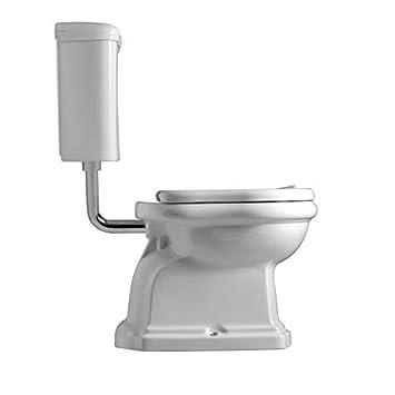 958ab904018d0d WC à poser - Pack WC complet à réservoir mi-haut CHAMBORD sortie horizontale