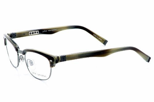 Amazon.com: John Varvatos V132 Eyeglasses V-132 Horn Optical Frame ...