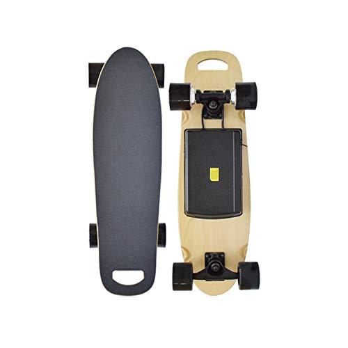 - Electric Skateboard, 10 Mph Maximum Speed, 300 Watt Dual Motor, Wireless Remote Control, Electric Skateboard Hub Motor,Black