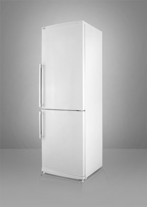 FFBF280W 13.8 cu. ft. Capacity Bottom-Mount Refrigerator Adjustable Thermostat Interior Light Ultra Quiet Performance Energy Star Qualified: White Right Hinge