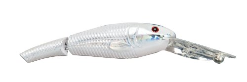 Tournament Crank - Matzuo Jointed Tournament Crankbait (White Satin, 3-Inch)