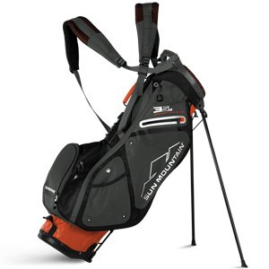 Sun Mountain Golf 2018 3.5 LS Stand Bag ORANGE-GNMTL-BLK (Orange/Gunmetal/Black)