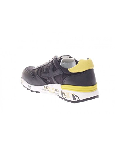 Premiata Mens Mick2825 Sneakers In Tessuto Nero