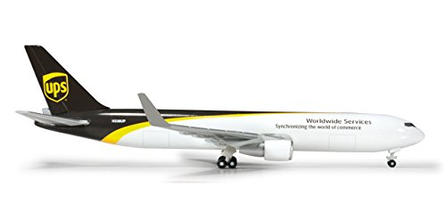 (Daron HERPA UPS 767-300F REG#N338UP Diecast Aircraft (1:500 Scale))