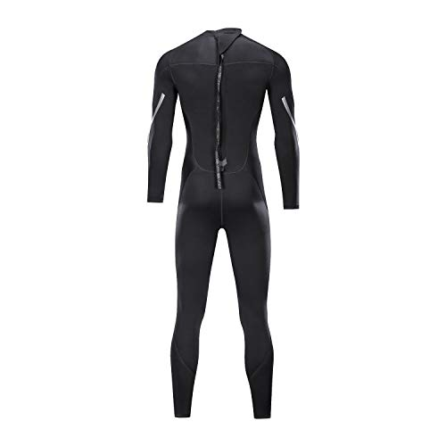 ZCCO Wetsuits Men's 3mm Premium Neoprene Full Sleeve Dive Skin for Spearfishing,Snorkeling, Surfing,Canoeing,Scuba Diving Wet Suits