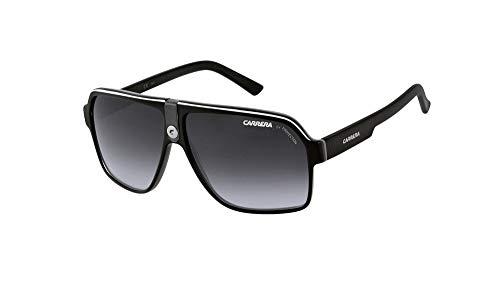 (Carrera Sunglasses Carrera 33 8V69O Acetate Black Gradient Grey )