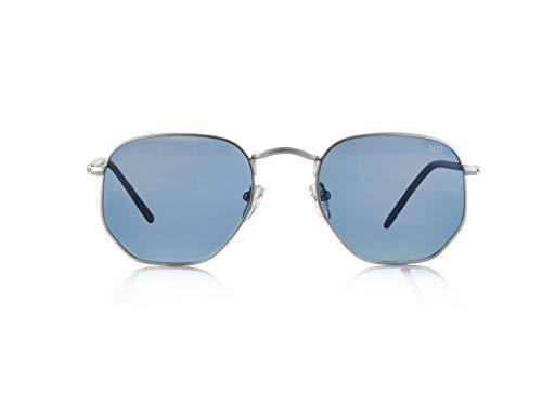 M Lunette soleil Design bleu Femme Mykonos Bleu de qf80w4