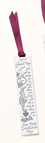 Cathedral Art BM129 For a Special Boy First Communion Metal Bookmark, 3-1/2-Inch -