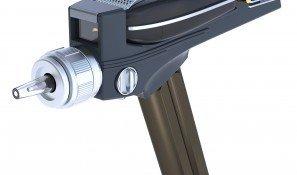 Star Trek Phaser Remote Control Replica - Universal TV Remote Prop From The Original Series (Star Cat Toy Trek)