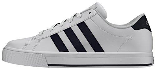 adidas Daily, Zapatillas de Deporte para Hombre Blanco (Ftwbla / Maruni / Plamat)