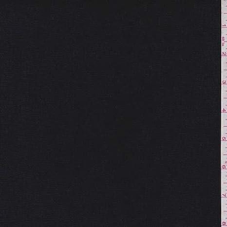 Hopsack de algodón negro azabache, tela por The Yard: Amazon.es: Juguetes y juegos