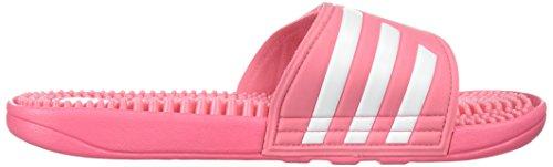 adidas Damen Adissage W Slide Sandale Kreide Pink / Weiß / Kreide Pink