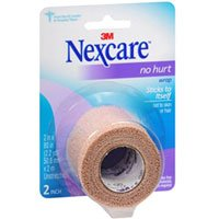 Nexcare No Hurt Wrap 2 in x 80 in, 1 Each (Pack of 2) (Athletic Wrap Nexcare)