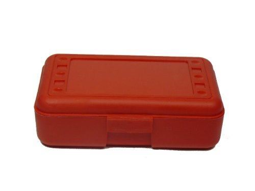 Romanoff Pencil Box, Red