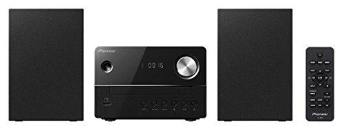 Pioneer X-EM16(B) op afstand bedienbaar microsysteem (CD, FM-radio, MP3-USB en wekfunctie) zwart