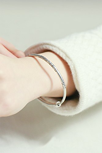 Generic [Silver] 99 fine silver Thai silver retro hand-carved bracelets by Generic