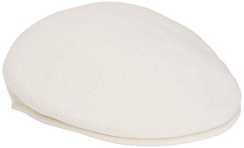 Kangol Unisex-Adult's 504 Ivy Cap, White, - Hats Kangol Unisex Accessories