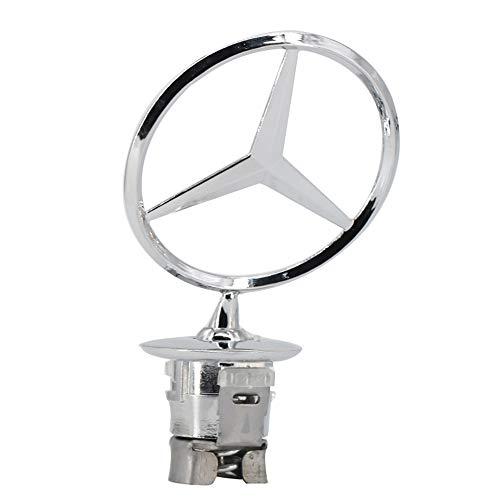 Cardiytools for Mercedes Benz Vehicle Hood Star Emblem Badge for Mercedes Benz C/E/S-class