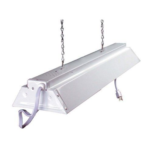 Hydrofarm FLV22 2-Foot Fluorescent Grow Light Fixture 2