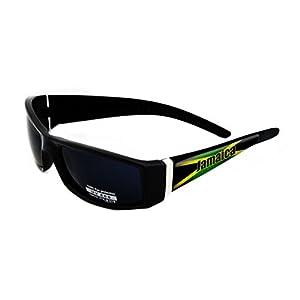 Jamaica Design Black Frame/Black Lens 60mm Sunglasses Item # S121715-80