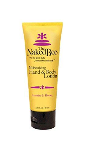 The Naked Bee Jasmine & Honey Hand And Body Lotion, 2.25 Oun