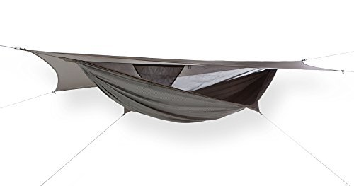 Hennessy Hammock Hyperlight Zip - Lightweight Camping and Survival Shelter for Hikers, Boy Scouts, Preppers, Soldiers, Military Units, Explorers, and Scientific (4 Expedition Weight Zip)