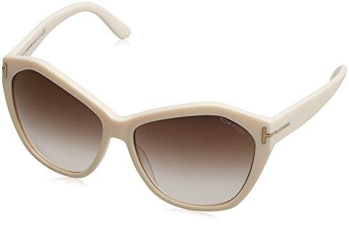 Tom Ford Sunglasses TF 317 IVORY 25G - Sunglasses Tom Ford Angelina