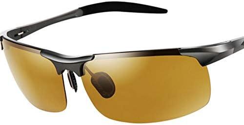 CDKET 男性用偏光サングラス、アウトドア旅行用釣りサングラス、運転手の運転用ミラー、スポーツ、サイクリング、毎日および夜用 CDKET