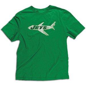 Retro Sport Vintage Tees - New York Jets Throwback Vintage Vintage Logo Retro Sport Slim Fit T Shirt (XL)