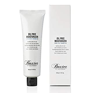Baxter of California Oil Free Face Moisturizer for Men | Lightweight | Fragrance Free | All Skin Types| 4.0 fl oz.