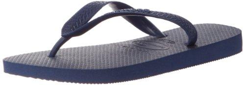 Havaianas Women's Top Sandal Flip Flop, Navy Blue, 35 BR/6 W