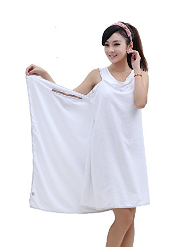 Rohern Womens Towels Bathrobe Wearable