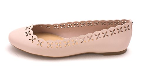 Enzo Angiolini Womens Mirella Leather Closed Toe Slide, Soft Pink, Size 6.5 (Footwear Angiolini Enzo)