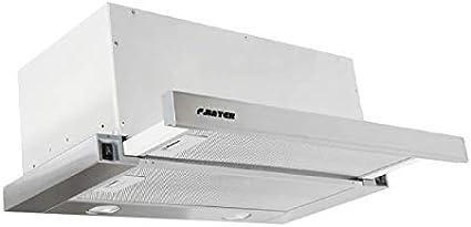 F.BAYER NIK 60E - Campana extractora (60 cm, 1000 m3/h, LED, acero inoxidable): Amazon.es: Grandes electrodomésticos