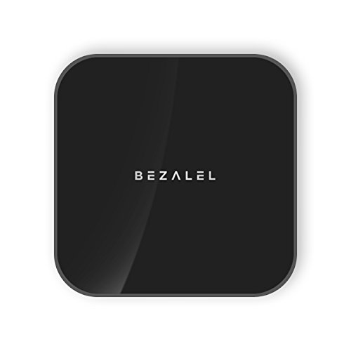 BEZALEL Prelude 3-in-1 7000mAh Portable Wireless Charging Power Bank for All Qi-enabled Smartphone, Tablet and Wearable - Black