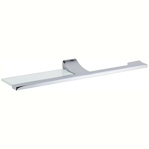 Ginger 4706-1/PC Cinu Toilet Tissue Holder with Shelf 4706-1, Polished Chrome by Ginger