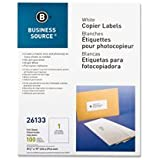 "Full Sheet Labels, 8-1/2""x11"", 100/PK, White, Sold as 1 Package"
