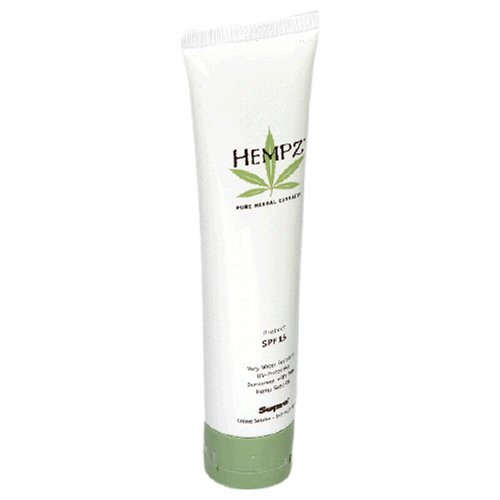 HEMPZ by Hempz SUNSCREEEN HEMP SEED OIL SPF 15 VERY WATER RESISTANT 5 OZ