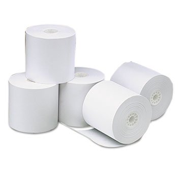 UNV35764 - Single-Ply Thermal Paper Rolls