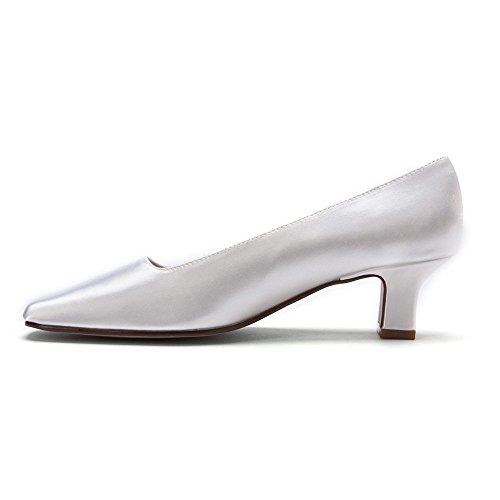 Retouches Womens Betty Pumps Chaussures Blanc