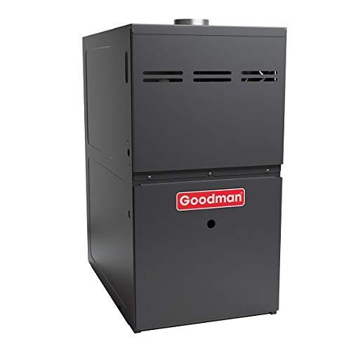 Goodman GMH80804BN Gas Furnace with 80% Afue 80K Btu Dual Saver 4 ()