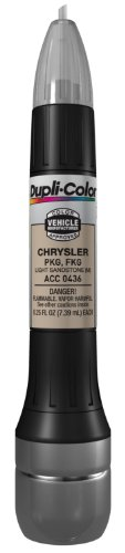Dupli-Color ACC0436 Metallic Light Sandstone Chrysler Exact-Match Scratch Fix All-in-1 Touch-Up Paint - 0.5 oz.