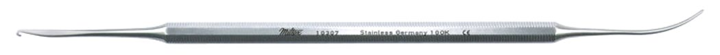 Miltex 10307 Varady Phlebectomy Extractor with Medium Crochet Style Hook and Spatula, 17.8 cm Length