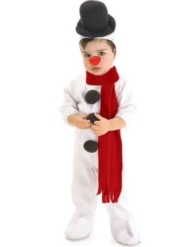 Snowman Toddler Costumes (Snowman Baby Infant Costume - Toddler)