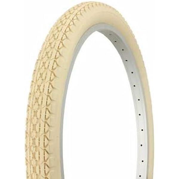 2 2 Tubes PAIR OF DURO BIKE BICYCLE TIRE 24 X 2.125 SLICK WHITE WALL DB-1012
