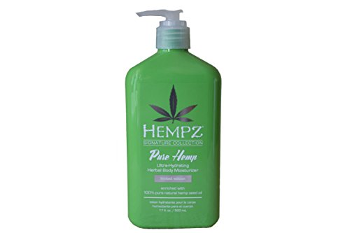 Hempz Pure Hemp Ultra-Hydrating Herbal Body Moisturizer - 17 oz (500 mL) - NEW - Limited Edition