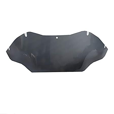 Dark smoke Motorcycle 9.5 Wave Windshield Windscreen For 1998-2013 Harley Road Glide FLTR