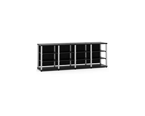 Salamander Synergy Quad 30 - Core Module (Black/Aluminum) Quad AV Cabinet